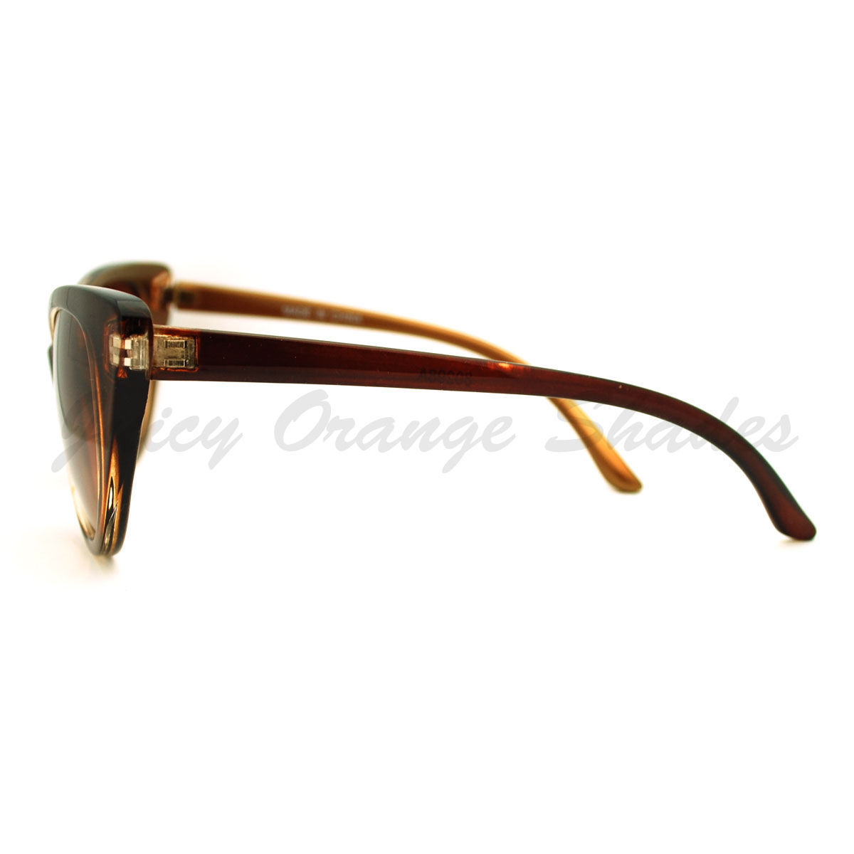 Womens Cateye Sunglasses High Fashion Popular Retro Look