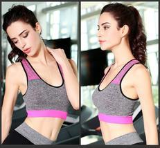 Women Quick Drying Cotton Bra Fitness Exercise Sport Bra Tank H178 - $8.88+