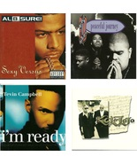 Lot of 4 CDs Al B Sure Heavy D & The Boyz Tevin Campbell K-Ci & Jojo - N... - $2.99