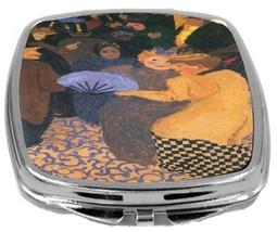 Rikki Knight Felix Vallotton Art Compact Mirror Art In The Music Hall De... - $12.00