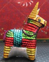 "Hispanic Mexican Christmas Pinata Donkey 4"" Ornament South Western Cinco... - $34.99"