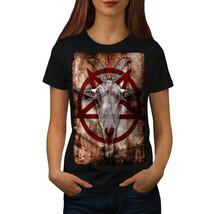 Occult Goat Symbol Shirt Satanistic Women T-shirt - $12.99