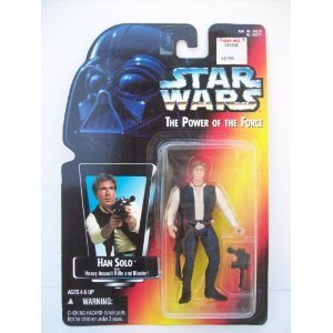 Star Wars POTF Han Solo action figure (red card)