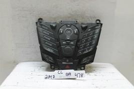 2013-2016 Ford Focus Radio Control Panel DJ5T18K811BA Oem Bx4 478 2M7 - $24.25