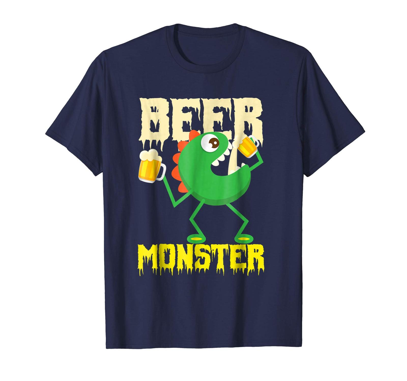 Primary image for Brother Shirts - Beer Monster Shirt | Cool Total Beer Drinkers Drunk Tee Gift Me