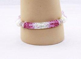 Pink Crystal Bracelet - $10.00