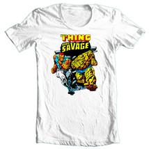 Doc Savage T-shirt Silver Age retro vintage 70's comic books cotton graphic tee image 2