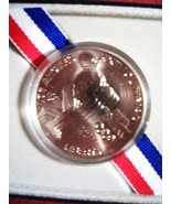 1983 Uncirculated Olympic United States SILVER DOLLAR - $524,24 MXN