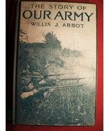 Scarce 1915 Hardback Book~ The Story Of Our Arm... - $19.99