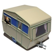 The Caravan from the Black Island Voiture Tintin cars Editions Atlas 1/43