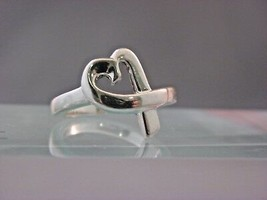 Tiffany&co, Paloma Picasso Loving Herz Ring Sterlingsilber / Sz 6 - $107.80
