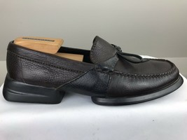 Cole Haan Men's Size 9M Country Brown Leather Loafers Driving Mocs Shoes image 2