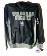 Majestic Athlétique Jeunesse Colorado Rockies Geo Strike Pull Capuche Pe... - $34.67