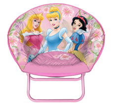 Disney Princess Mini Saucer Chair, Available in Multiple Characters - $20.35