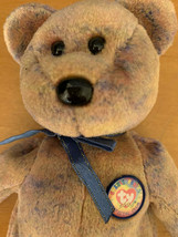 TY Beanie Babies Clubby III (3rd) Official Club Button 2000 Tie Dyed Multicolor - $13.32