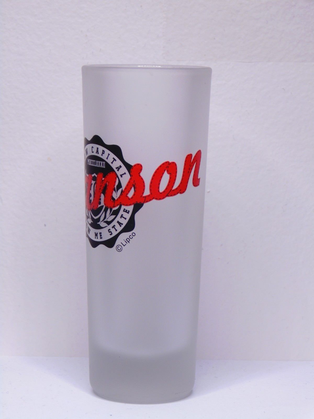 Branson Missouri Show Capital Show Me State Frosted Shot Glass