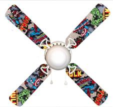 """Marvel Avengers Super Heroes 42"""" Ceiling Fan and Lamp - $109.99"""