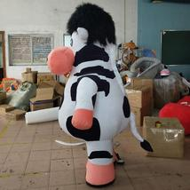 Cow mascot  inflatable doll costumes inflat mascot image 2