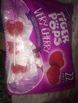 tiger pops very cherry 22 piece valentines candy - $14.85