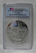 2010 PCGS MS69 DMPL FS Grand Canyon 5 OZ .999 SILVER Coin America The Be... - $339.95