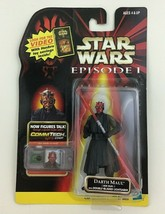 Darth Maul Jedi Duel Action Figure Commtech Chip Star Wars Episode 1 Has... - $10.84
