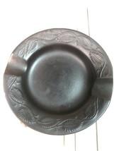 Vintage Mid Century Wormser Terra Sigillata Small Pottery Ashtray Signed... - $19.80