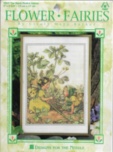 Designs For The Needle Cross Stitch Pattern Kit-Flower Fairies-Cicely M.... - $12.16