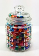 Candy Jar 8oz with Airtight Lid Collectible Decorative Container - $10.55
