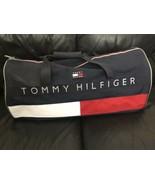 """VTG Vintage 1990s Large 23"""" Tommy Hilfiger Spell Out Flag Duffel Bag NOS - $199.99"""