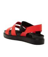 C Label Deysi-4 Sandalo con Cinturini, Rosso, Misura 8 - $19.79