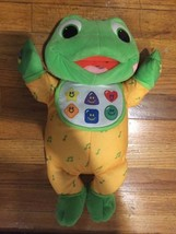 2001 LEAP FROG BABY TAD HUG & LEARN EDUCATIONAL COLLECTIBLE PLUSH WITH B... - $28.01