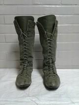 Women's Puma Green Size 7.5 / 38 Mid Calf Boots - $19.79
