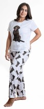 Dog Chocolate Labrador pajama set with pants for women - $35.00