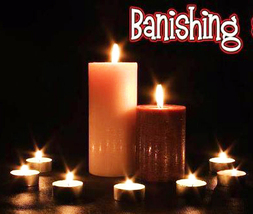 27X FULL COVEN HAUNTED BANISH ALL NEGATIVE AWAY MAGICK 99 YR Witch Cassia4  - $15.00