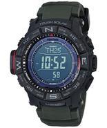Casio Men's PRO TREK Stainless Steel Quartz Watch with Resin Strap, Blac... - $373.29