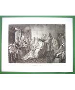 RUSSIAN WEDDING Toilette of Bride - 1893 Victorian Era Antique Print - $20.21