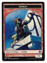 Magic MTG Promo Token Goblin Duel Deck Merfolk vs. Goblins 2017 - $2.25