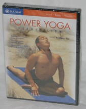 Power Yoga - Flexibility with Rodney Yee by GAIAM (DVD, 2004) New / Sealed - $16.71