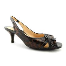 COLE HAAN Size 6.5 Tortoise Patent N. AIR Slingback Heels Pumps Shoes 6 1/2 - $29.00