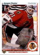 Jacques Cloutier 1990-91 Upper Deck Rookie Card #114 - $0.99