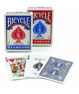 2x Two Decks Bicycle Standard Playing Cards Red+Blue New Sealed Decks - $10.78