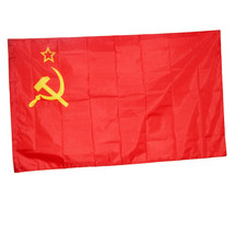 CCCP flag 3x2' feet russian 90x60cm Union of Soviet Socialist Republics ... - £5.42 GBP