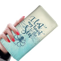 Ladies Wallet with Strap RFID Credit Card Holder Women Clutch Wallets - ... - $23.99