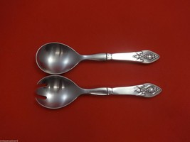 "Fuchsia by Georg Jensen Sterling Silver Salad Serving Set 2pc 8 1/4"" - $464.55"