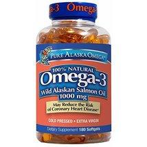 Trident Alaskan Salmon Oil, 1000mg, 180 ct. (Pack of 2) - $44.90