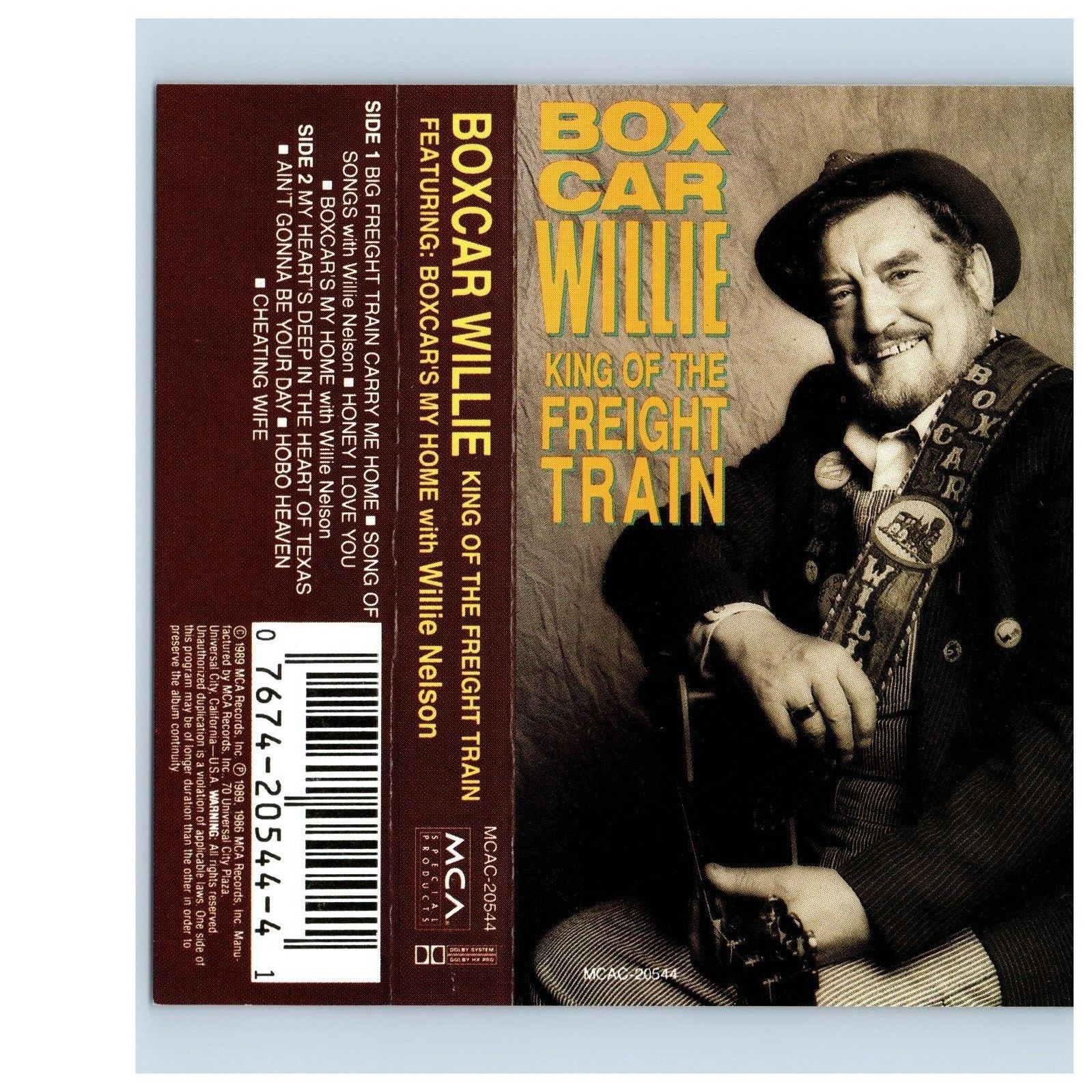 King of the Freight Train by Boxcar Willie (Cassette, Nov-1994, Universal)