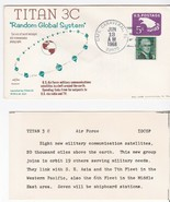 TITAN 3C LAUNCH CAPE CANAVERAL FL JUNE 13 1968 SWANSON WITH INSERT HAND ... - $3.58