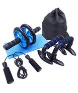 AB Roller Kit Strong Load-bearing With Push-Up Bar Jump Rope Knee Pad Ho... - $23.86+