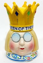 Mary Engelbreit ME - QUEEN OF THE KITCHEN Cookie Jar EXCELLENT MINT - $44.60