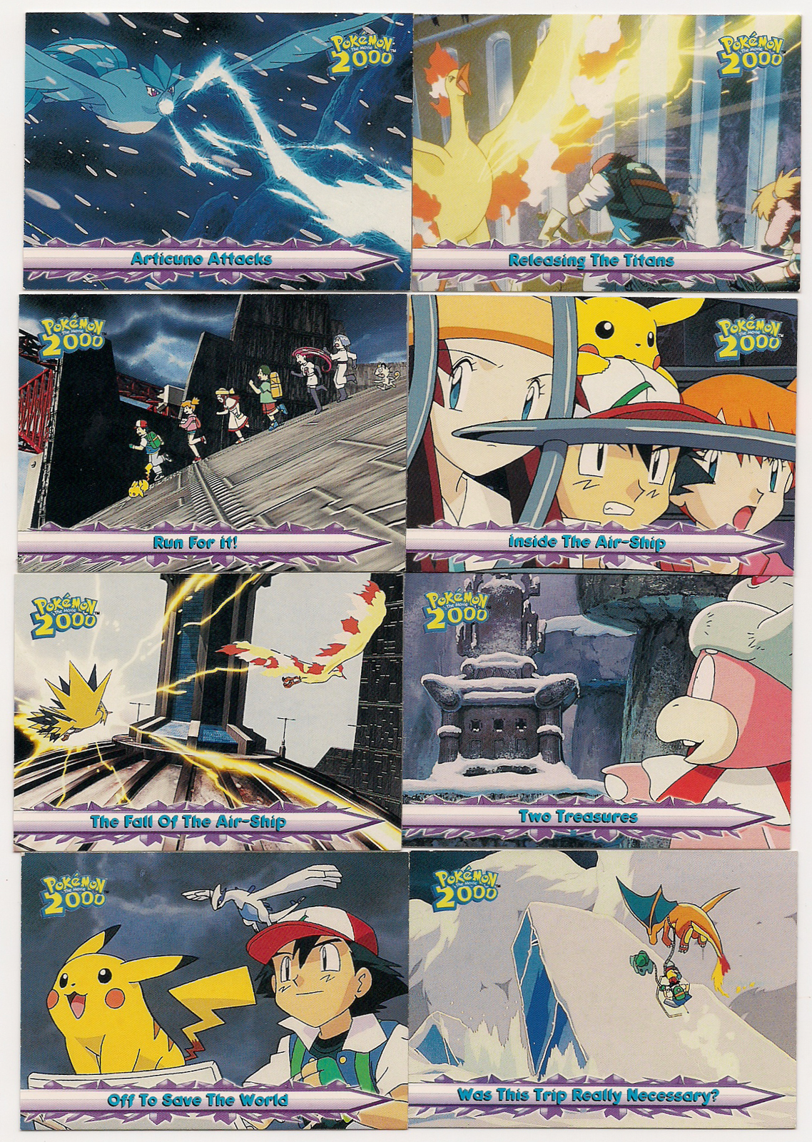 Set Of 14 Topps Pokemon The Movie 2000 Cards And 19 Similar Items